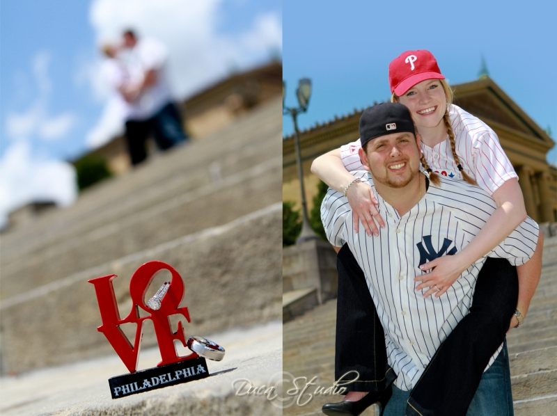 Dana & Marc Dimaio's Engagement Session
